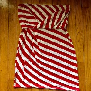 ⚡️BCBG ⚡️BCBGeneration Red&White Mini Dress
